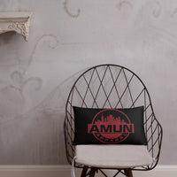 Amun City Throw Pillow