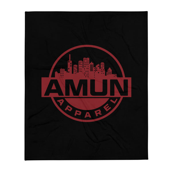 Amun City Throw Blanket - 50×60