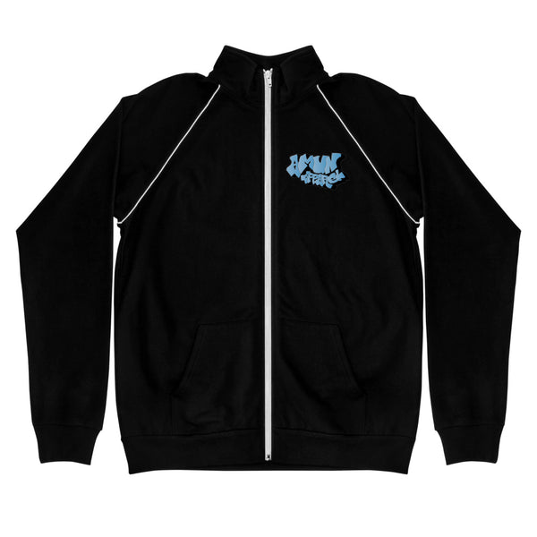 Amun Apparel Graffiti Piped Fleece Jacket