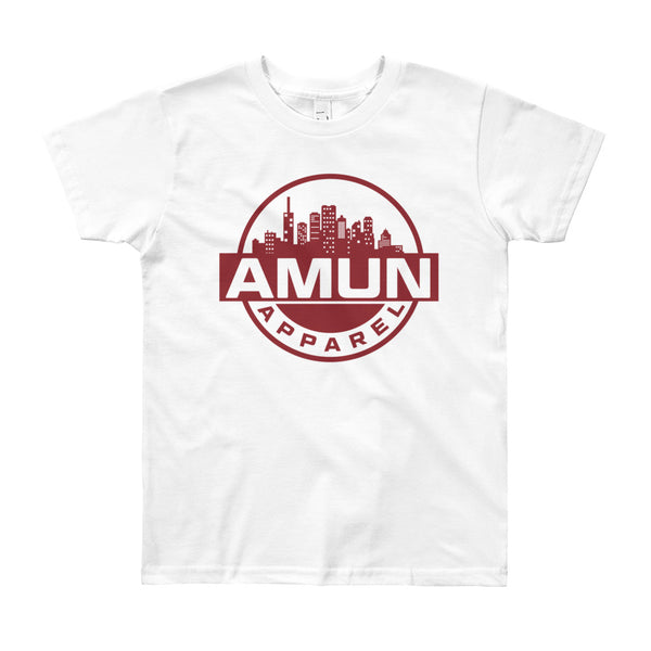 Amun City Youth Short Sleeve T-Shirt