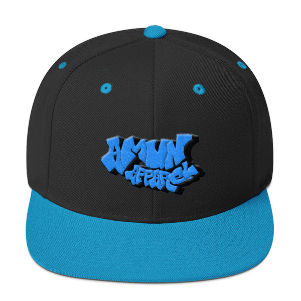 Amun Apparel Graffiti Snapback Hat