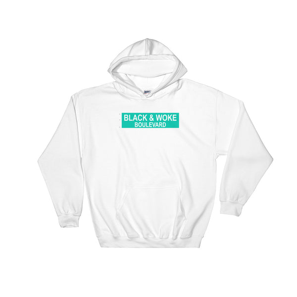 Black & Woke Hooded Sweatshirt