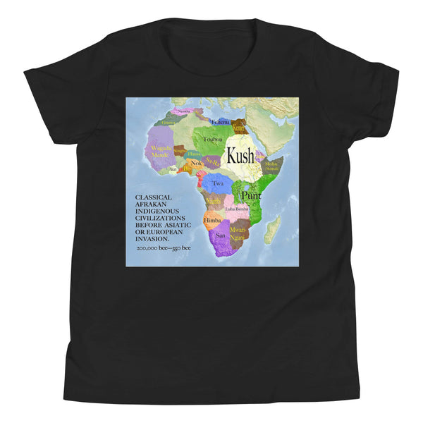 Classical Africa Youth Short Sleeve T-Shirt