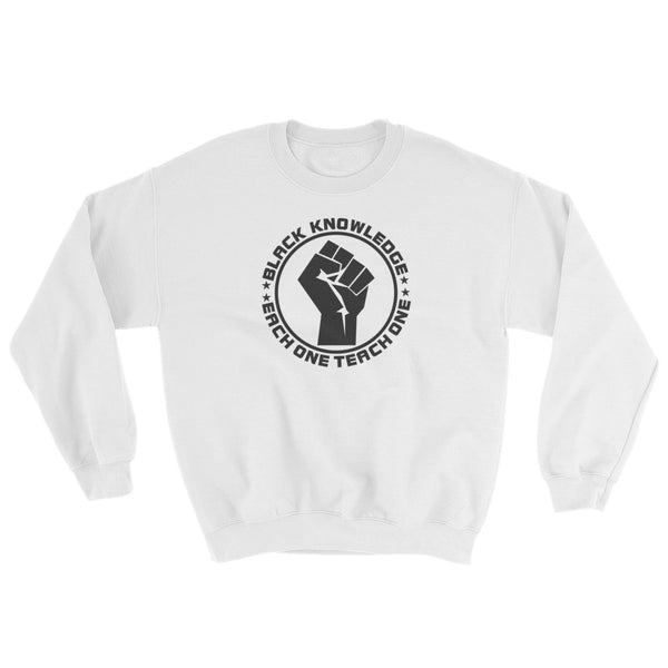 Black Knowledge Sweatshirt