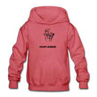 Children's Hoop Legend Hoodie - heather red