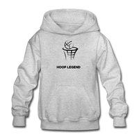 Children's Hoop Legend Hoodie - heather gray