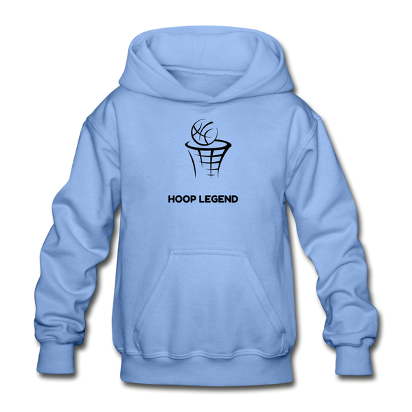 Children's Hoop Legend Hoodie - carolina blue