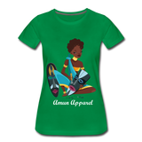 Women's Tribal Love T-Shirt - kelly green