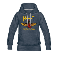 Maat Women's Premium Hoodie - heather denim