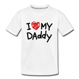 Love Daddy Premium Kid's T-Shirt - white