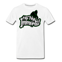 Hip Hop Immortal Men's Premium T-Shirt - white