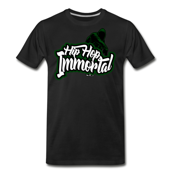 Hip Hop Immortal Men's Premium T-Shirt - black
