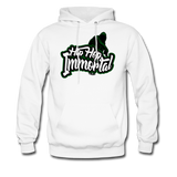 Hip Hop Immortal Men's Hoodie - white