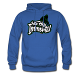 Hip Hop Immortal Men's Hoodie - royal blue
