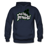Hip Hop Immortal Men's Hoodie - navy