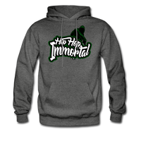 Hip Hop Immortal Men's Hoodie - charcoal gray