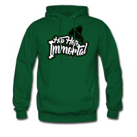 Hip Hop Immortal Men's Hoodie - forest green