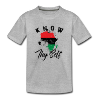 Know Thy Self Toddler Premium T-Shirt - heather gray