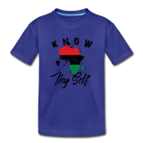 Know Thy Self Toddler Premium T-Shirt - royal blue