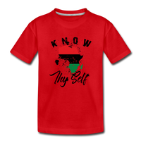Know Thy Self Toddler Premium T-Shirt - red