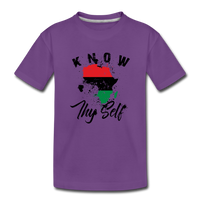 Know Thy Self Toddler Premium T-Shirt - purple