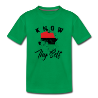 Know Thy Self Toddler Premium T-Shirt - kelly green