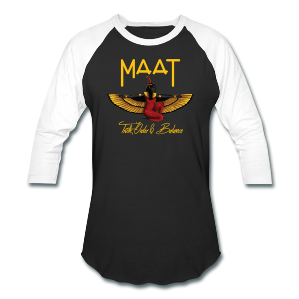 Maat Sports T-Shirt - black/white