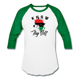 Know Thy Self Sports T-Shirt - white/kelly green