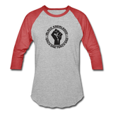 Black Knowledge Sports T-Shirt - heather gray/red