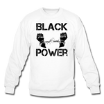 Black Power Sweatshirt - white