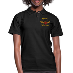 Maat Pique Polo Shirt - black