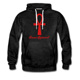 Men's Ankh Hoodie - charcoal gray