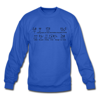 Metu Neter Crewneck Sweatshirt - royal blue