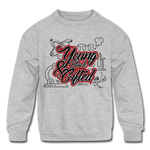Young Black & Gifted Kids' Crewneck Sweatshirt - heather gray