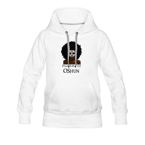 Daughter Of Oshun Hoodie - white