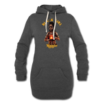 MAAT Women's Hoodie Dress - heather black