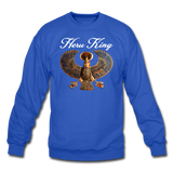 Heru King Sweatshirt - royal blue