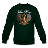 Heru King Sweatshirt - forest green