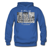 Black Wall Street Hoodie - royal blue