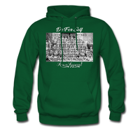Black Wall Street Hoodie - forest green