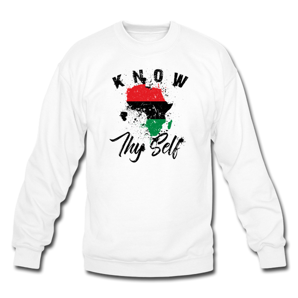 Know Thy Self Sweatshirt - white