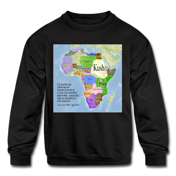 Kids' Classical Sweatshirt - black