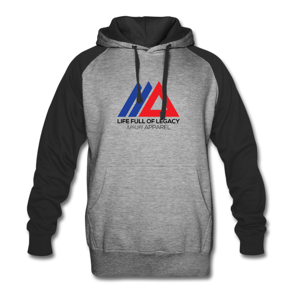 Legacy2 Hoodie - heather gray/black