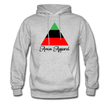 RBG Pyramid Hoodie - heather gray