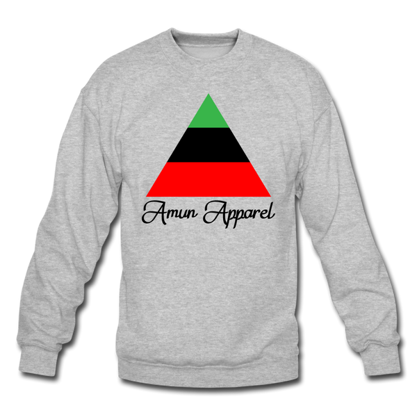 RBG Pyramid Sweatshirt - heather gray