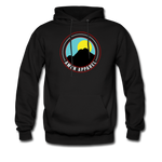 Men's Black Mpuntain Hoodie - black