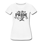 Women's Black Pride T-shirt - white