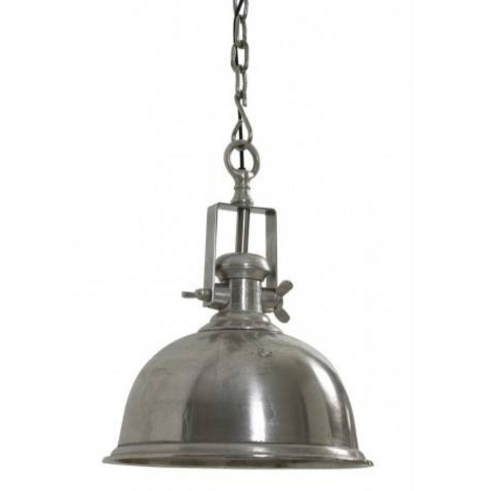 Suspension nickel brut antique