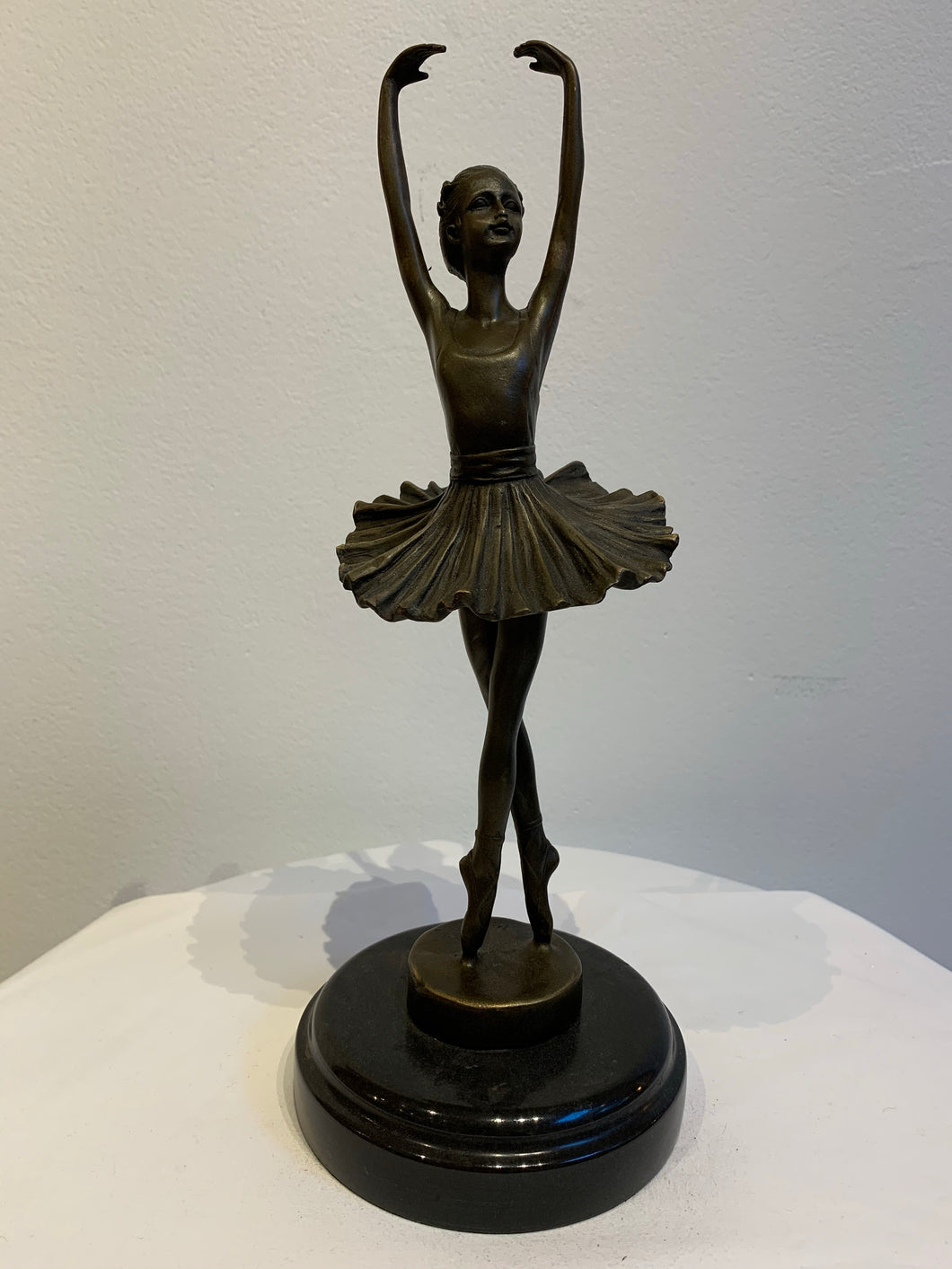 Danseuse en bronze