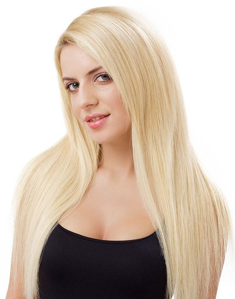 Hair extension Platinum Blonde #613